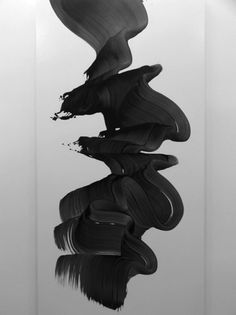 tumblr_lmquw8PhvT1qf6sqlo1_500.jpg (500×667) #white #black #paint #art #and
