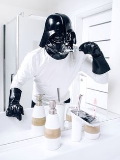 #toothbrush #dartvader #vader #usetheforce #starwars