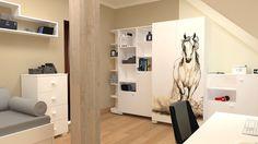 Pokój specjalnie dla miłośników białych koni. Zobacz więcej na https://www.meblik.pl/kolekcja/white-horse/