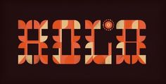 FFFFOUND! | Friends of Type #type #brent #couchman