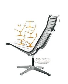 TypeToy #miller #chair #mid #century #herman