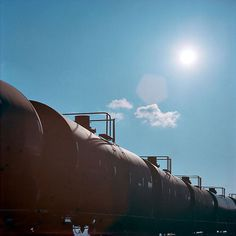 http://off-the-wall-b.tumblr.com/tagged/photography #train #sky