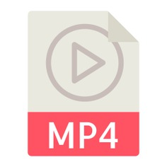 See more icon inspiration related to mp4, audio, file, file format, file formats, file extension, files, interface and symbol on Flaticon.