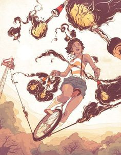 Dream by Goni Montes, via Behance #illustration