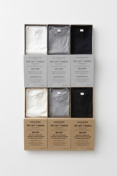 the web #white #packaging #black #shirt #grey