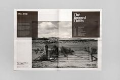 FFFFOUND! | Hunt Studio | Multi-disciplinary design studio | Melbourne — Driza–Bone: The Rugged Times