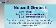 Neuzeit Grotesk - Webfont & Desktop font « MyFonts #type #neuzit