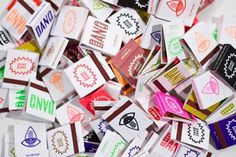 FFFFOUND! | ALLUMETTES - MATCHES - Atelier BangBang // Sérigraphie & Design #matchbox #design #matches #bang
