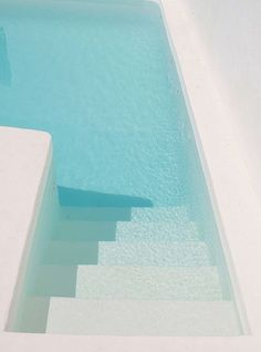 light #blue #pool #white #water
