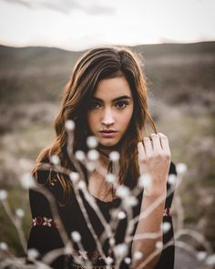 Gorgeous Portrait Photography by Hunter Gillman