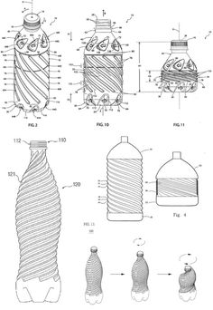 CollapsibleBottlePatents #packaging #design