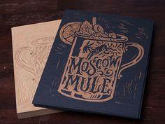 Moscow Mule Block Print