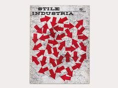 Display | Stile Industria 35 | Collection #typography #maps #red #arrows #magazine cover