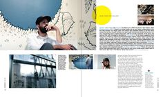 The Art Issue (s) ••••••Art SanFrancisco Magazine on Editorial Design Served