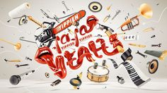 FOREAL™ – NHB – Beauty of Sound Design #sound #lettering #design #typography