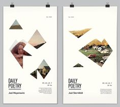 Daily Poetry on the Behance Network #design #type #poster #graphics #clara fernndez