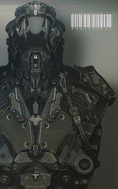 PROTOTYPUS FINAL by krysalid - cki vang - CGHUB #armor #prototype
