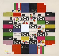 Creative Review The Graphic Design of the Eames Office #design #graphic #toy