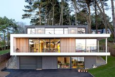 House in Crozon Located Among Majestic Maritime Pines - #architecture, #house, #housedesign