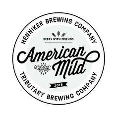 American Mild Beer #beer #logo #logodesign #typography