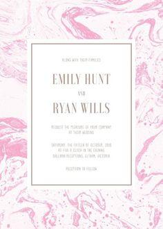 Sweet Marble - Wedding Invitations #paperlust #weddinginvitation #weddingstationery #invitations #cards #print #digitalcards