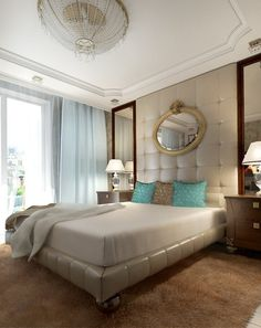 Luxury and artistic bedroom