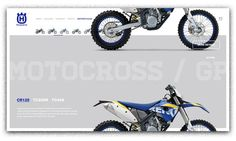 Husqvarna Motorcycles on Behance #nice