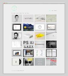 Johan Hammarström #website #layout #design #web