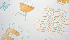 SOF_Summertime_02 #poster #summer #letterpress