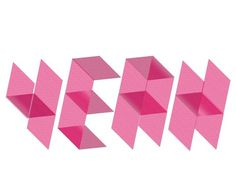 Design | Tumblr #pink #type #yeah #linework
