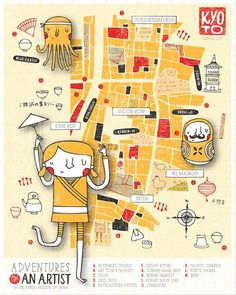 Artist_NicoleLarue_IF #map #illustration #kids