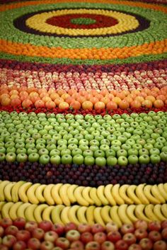 CJWHO ™ (Decorative Carpet Design Made Completely With...) #design #art #fashion #colors #carpet #fruits #kenzo