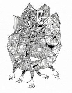#mantra #galactica #hojin #kang #cameokid #illustration #drawing #scetch