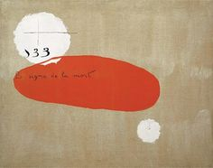 Somewhere between abstraction and figuration - but does it float #joan #miro #art #paintings