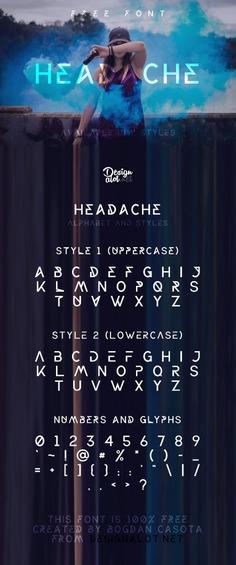 Headache Font