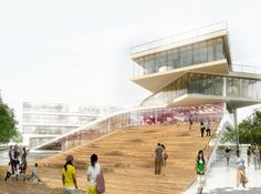 Cultural Center in Denmark / BIG Architects - eVolo | Architecture Magazine #archhitecture