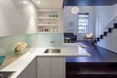Manhattan MicroLoft – Radical Transformation of a Tiny Apartment