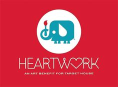 Invisible Creature Speaks #heartwork #elephant #identity #logo #monostroke #typography