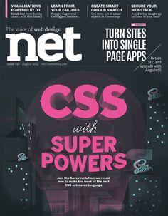 NET MAGAZINE - SASS on Behance #front #jamesp0p #oconnell #cover #james #illustration #net #magazine