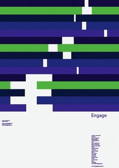 Bibliotheque Editions — Engage #bibliothque #design #graphic #poster