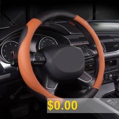 Universal #Steering #Wheel #Cover #Car #Supplies #for #Four #Seasons #- #BLACK #ORANGE
