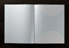 Inspiration Pad on the Behance Network #lines #paper