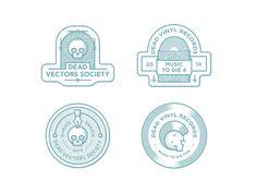 Pappstoff by Axel Herrmann #vectors #dead #vinyl #logo