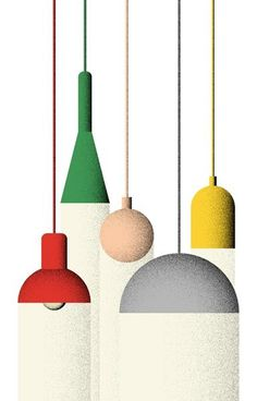 Giacomo Bagnara | Illustrator #lamp #illustration