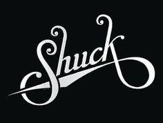 Dribbble - Shuck Logotype Round 2 by Marshall Meier #logotype #handwritten #identity #baseball #oysters #shuck