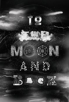 To the Moon and Back #font