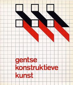 Flyer Design Goodness - A flyer and poster design blog: Wim Crouwel - selected graphic designs and prints from museum archive #white #red #black #cover #crouwel #wim #typography