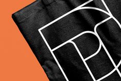 Paul Thomson by Duane Dalton #bag #graphic design #brand #brand identity #orange