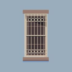 Windows of New York | A weekly illustrated atlas #illustration