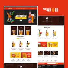 #Gruchone #Beer & #Wine Store - #Prestashop #Responsive #Theme #eCommerce #Website #Design #Template